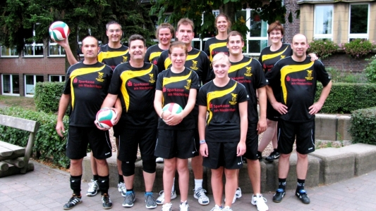 Volleyball-Gruppe